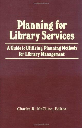 Download Planning for Library Services