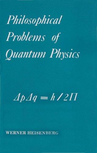 Download Philosophical Problems of Quantum Physics