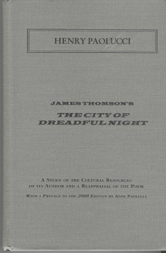 Download James Thomson's The city of dreadful night