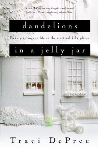 Download Dandelions in a jelly jar
