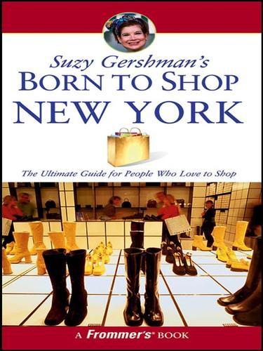 Suzy Gershman's Born to Shop New York