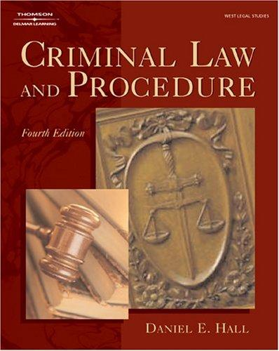 Download Criminal law and procedure