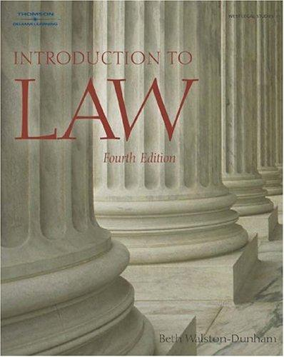 Download Introduction to law