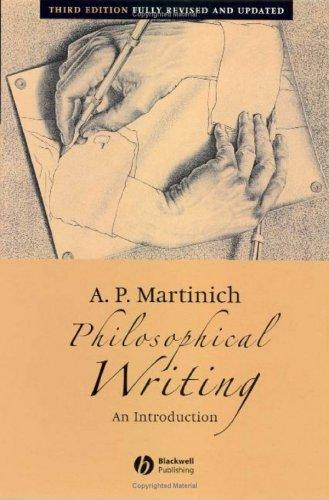Download Philosophical writing