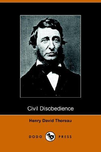 Civil Disobedience (Dodo Press)