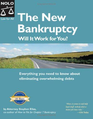 The new bankruptcy