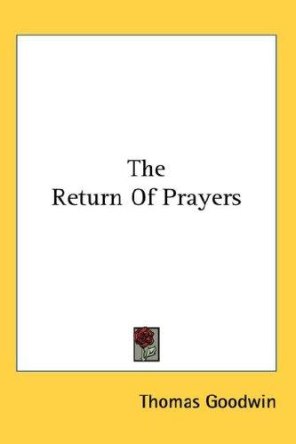 Download The Return Of Prayers