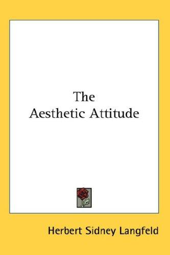 Download The Aesthetic Attitude