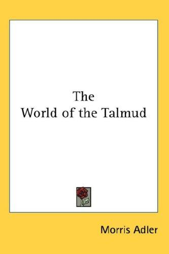 Download The World of the Talmud