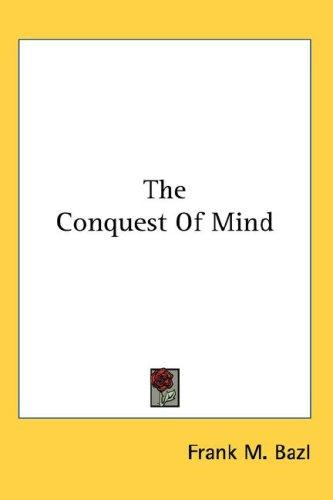 The Conquest Of Mind
