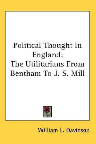 Download Political Thought In England
