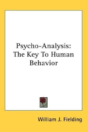 Psycho-Analysis