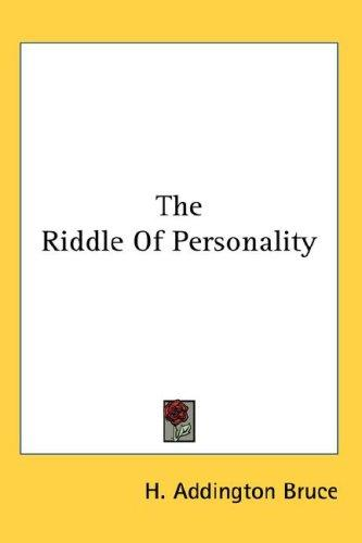 Download The Riddle Of Personality