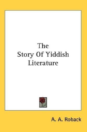 The Story Of Yiddish Literature