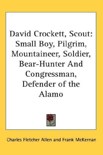 David Crockett, Scout