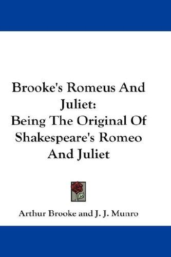 Download Brooke's Romeus And Juliet