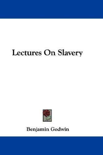 Download Lectures On Slavery