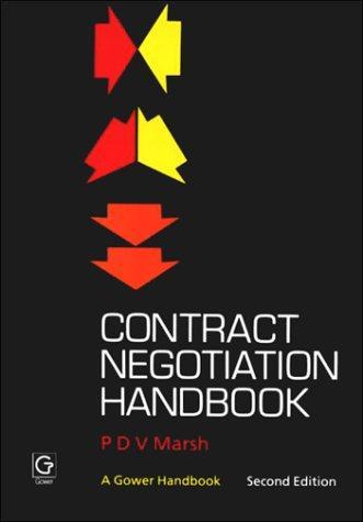 Download Contract negotiation handbook