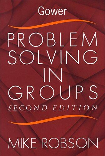 Download Problem solving in groups