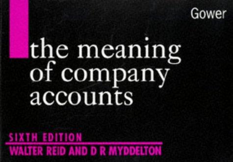 Download The meaning of company accounts