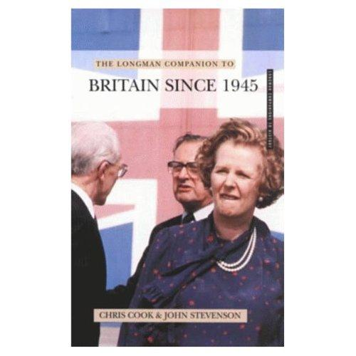 Download The Longman companion to Britain since 1945