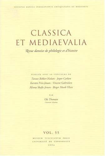 Download Classica Et Mediaevalia
