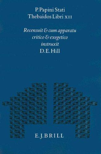 P. Papini Stati Thebaidos libri XII
