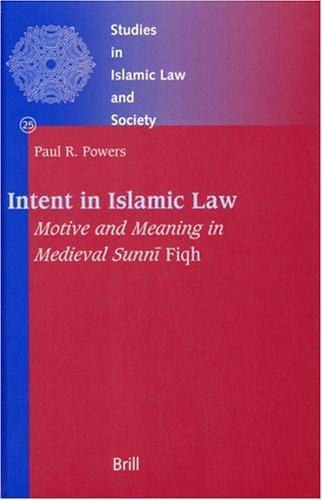 Download Intent in Islamic Law
