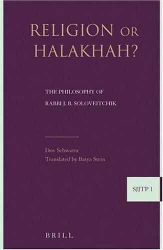 Download Religion or Halakha