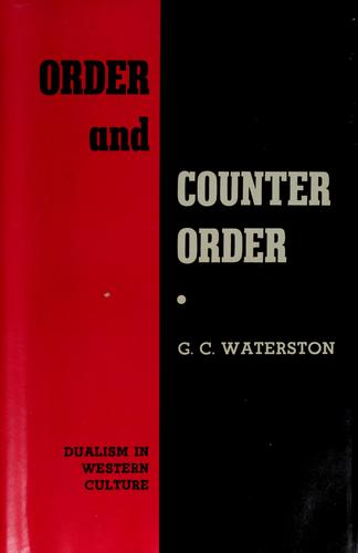 Order and counter-order