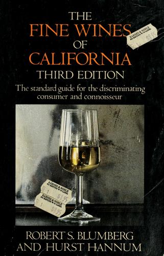 The fine wines of California