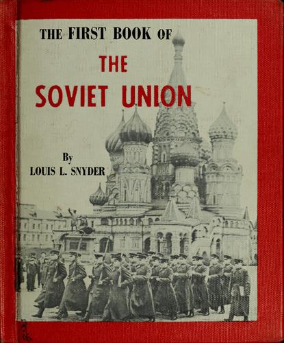 The first book of the Soviet Union.
