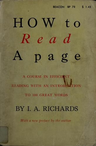 Download How to read a page