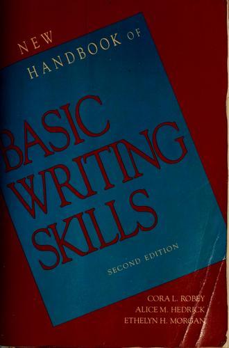 The new handbook of basic writing skills