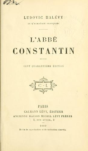 Download L' abbé Constantin
