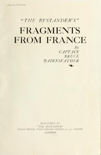 The Bystander's fragments from France