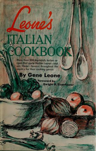 Leone's Italian cookbook.
