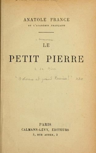 Download Le petit pierre.
