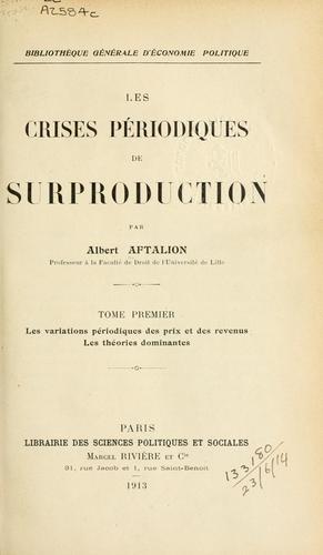Download Les crises périodiques de surproduction.