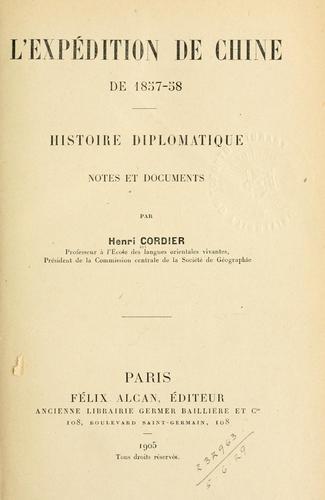 Download L' expédition de Chine de 1857-58