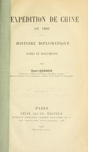 Download L' expédition de Chine de 1860