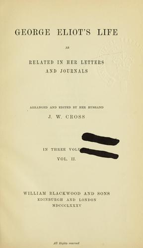 Download Life as related in her letters and journals
