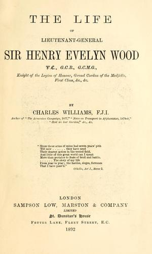Download The life of Lieutenant-General Sir Henry Evelyn Wood