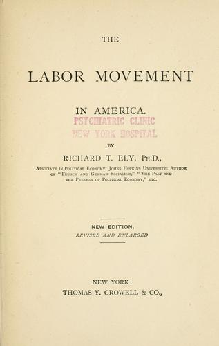 The labor movement in America