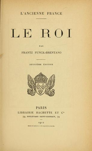 Download L'Ancienne France – Le Roi.