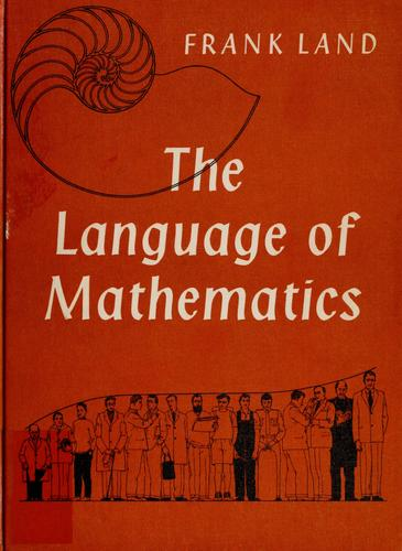 The language of mathematics.
