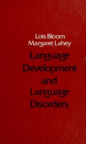 Language development and language disorders