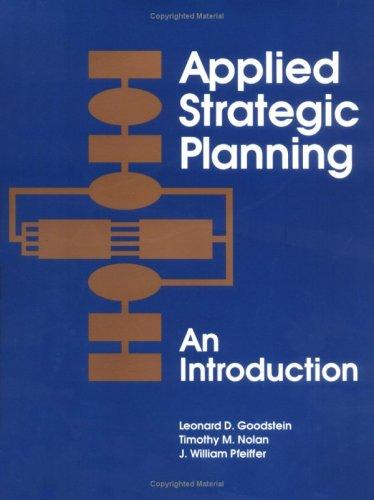 Download Applied strategic planning