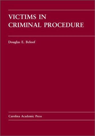 Victims in criminal procedure