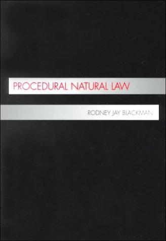 Procedural Natural Law